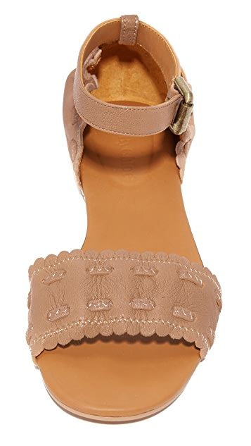 See by Chloe Jane Ankle Strap Sandals