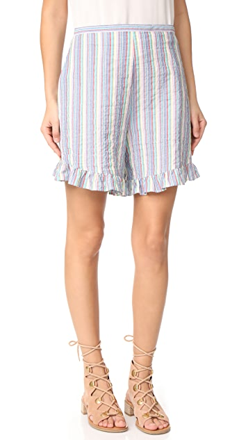 See by Chloe Ruffle Bottom Shorts