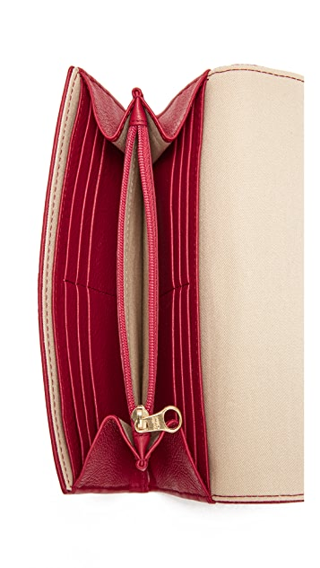 See by Chloe Lizzie Continental Wallet