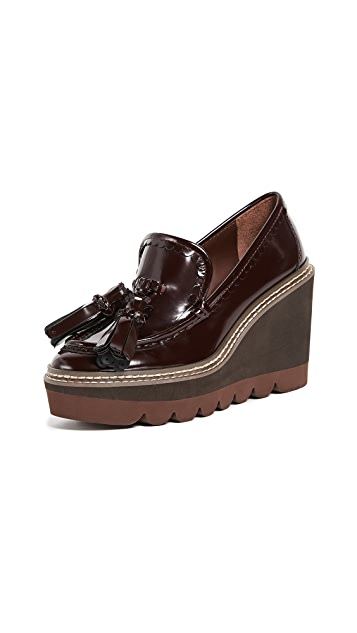 See by Chloe Zina Wedge Loafers