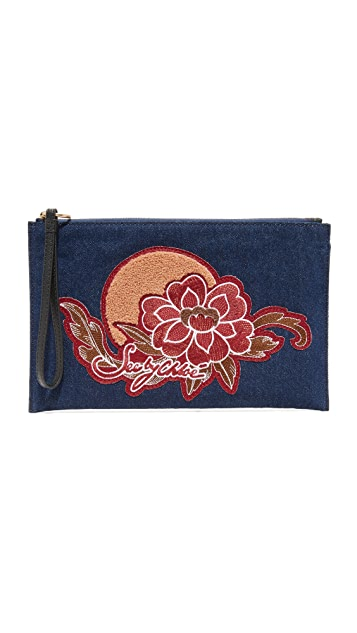 See by Chloe Denim Pouch