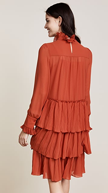 See by Chloe Ruffle Bottom Dress