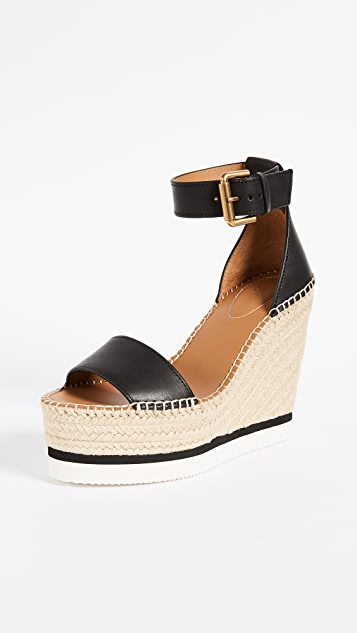 17ce3df30365 See by Chloe. Glyn Wedge Espadrilles