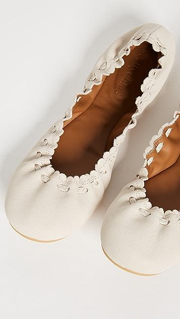 See by Chloe Jane Ballerina Flats