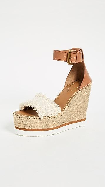 Chloé Espadrille Wedge Sandals Gr. EU 36 mQJSdsE3