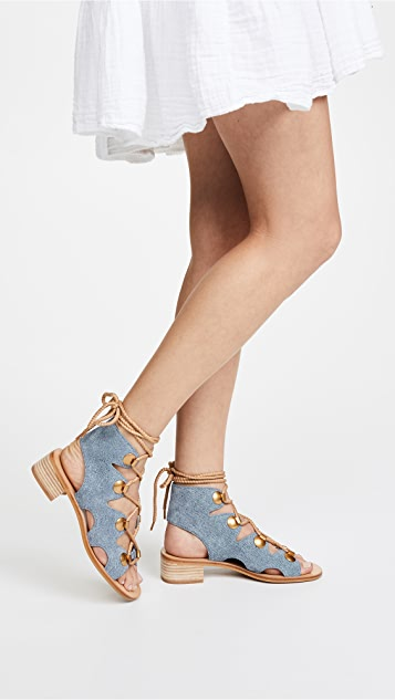 See by Chloe Alabama City Gladiator Sandals