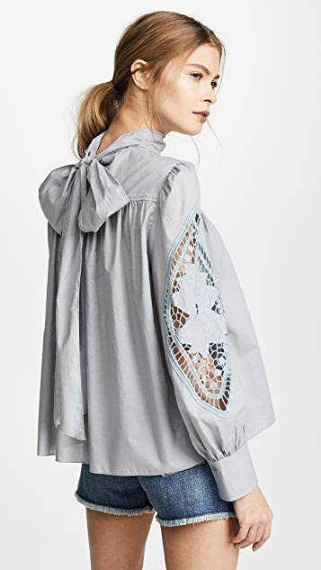 See by Chloe Embellished Blouse