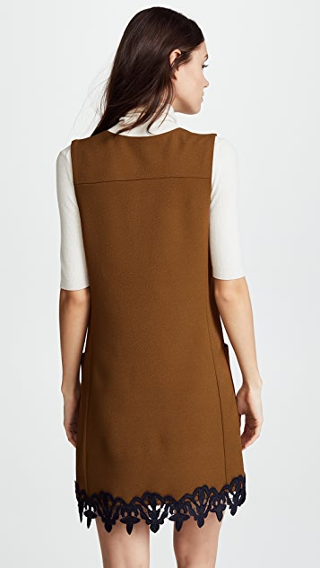 See by Chloe Crepe Ribbon Dress