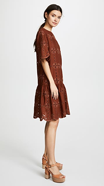 See by Chloe Broderie Dress
