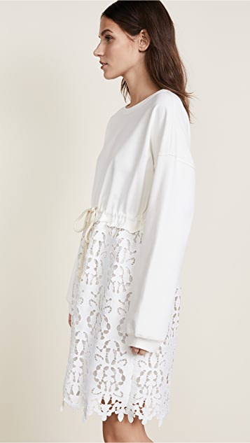 See by Chloe Jersey Lace Dress