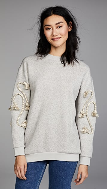 See by Chloe Crafty Rope Sweatshirt