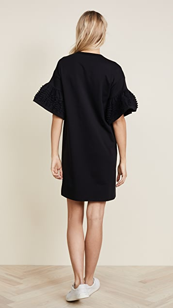 See by Chloe Frilly Jersey Dress
