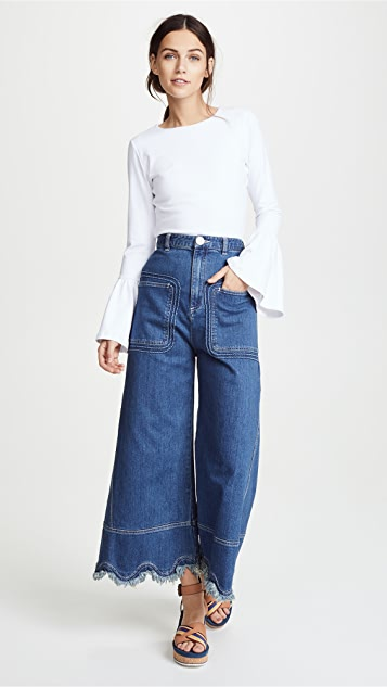 See by Chloe Scallop Jeans