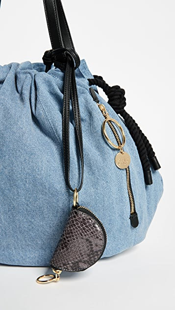 See by Chloe Flo Denim Shoulder Bag