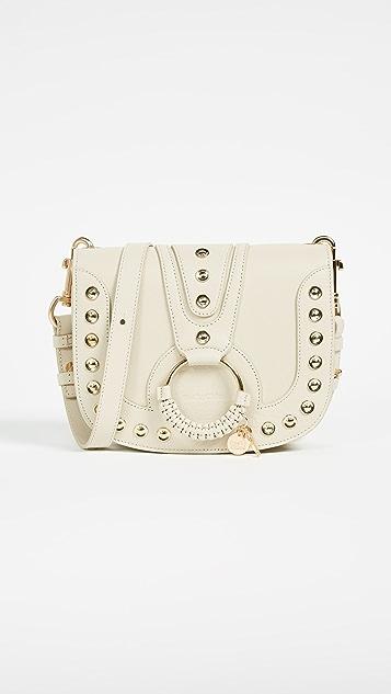 See by Chloe Hana Medium Saddle Bag - Cement Beige
