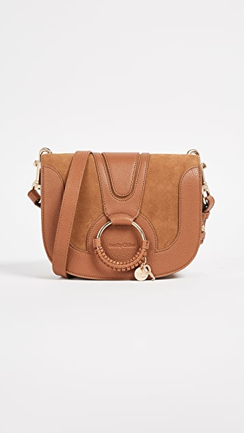 See by Chloe Hana Medium Saddle Bag - Carmello