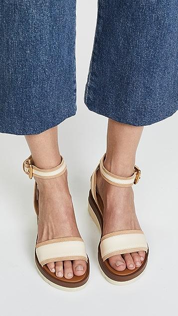 See by Chloe Robin Wedge Sandals