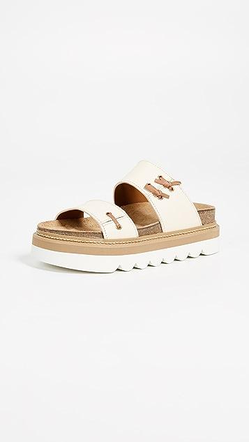 fake cheap price Chloé Knit Slide Sandals hot sale cheap price sale excellent 4Qt7Su