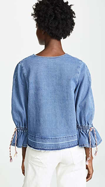 See by Chloe Denim Blouse
