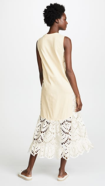 See by Chloe Lace Bottom Dress