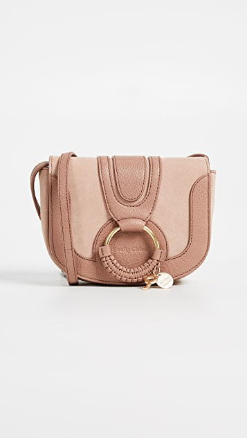 See by Chloe Hana Mini Saddle Bag - Nougat