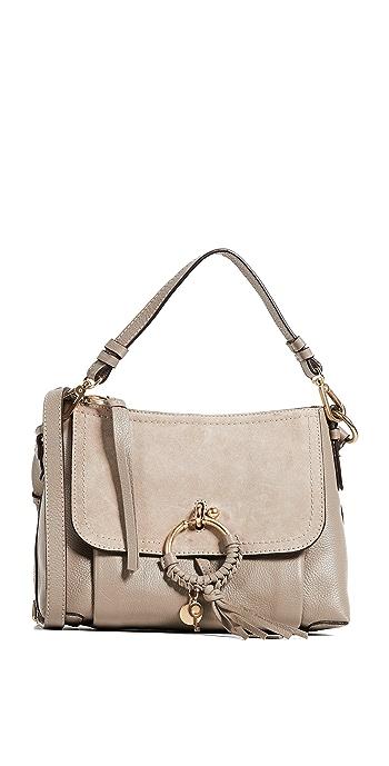 See by Chloe Joan Small Shoulder Bag - Motty Grey