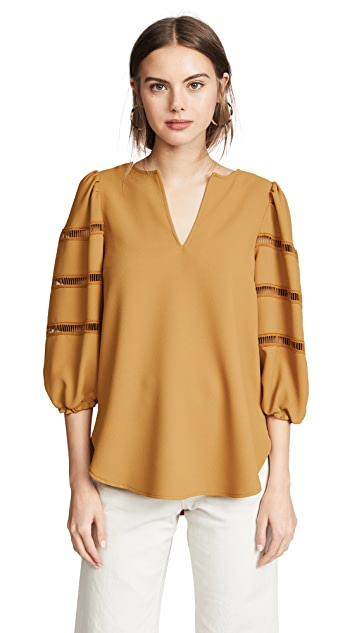 See by Chloe Pouf Sleeve Top