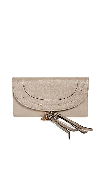 See by Chloe Long Flap Wallet