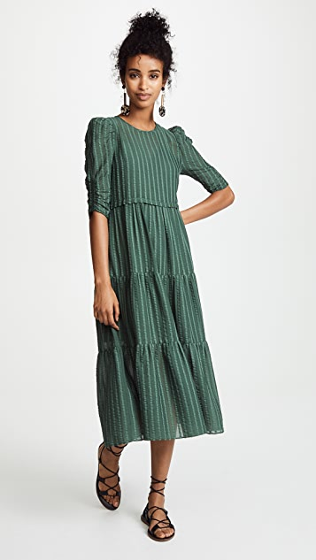 See by Chloe Pouf Sleeve Maxi Dress