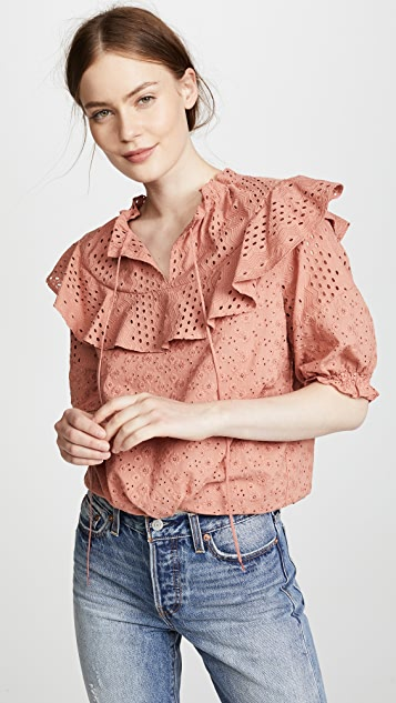 See by Chloe Textured Blouse