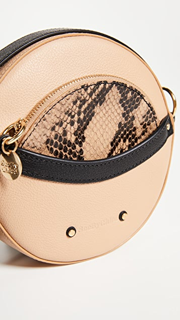 See by Chloe Rosy Round Cross Body Bag