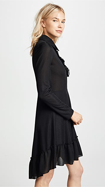 See by Chloe Collared Long Sleeve Dress