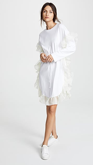 See by Chloe Tiered Ruffle Dress
