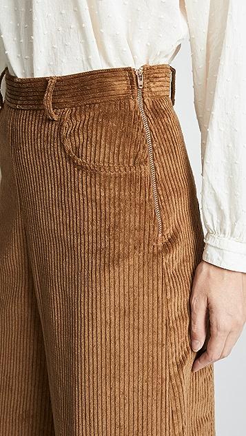See by Chloe Cropped Wide Leg Pants