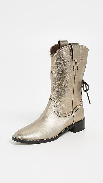 6b135ab8957a6 See by Chloe Annika Western Boots