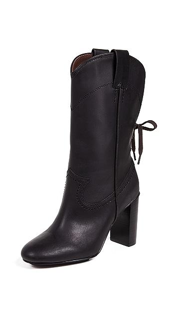 See by Chloe Annika High Heel Western Boots