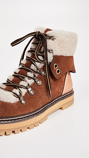 See by Chloe Eileen Flat Boots