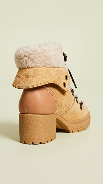 See by Chloe Eileen Mid-Heel Boots