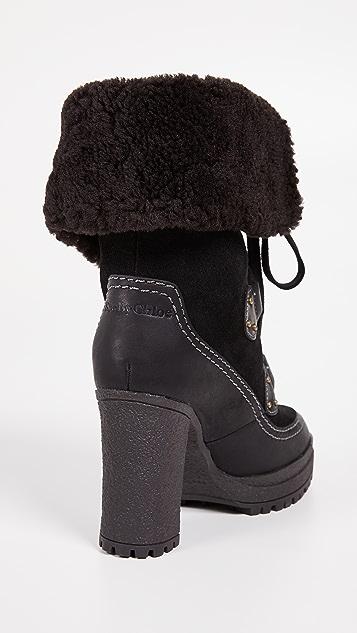 See by Chloe Verena Platform Boots
