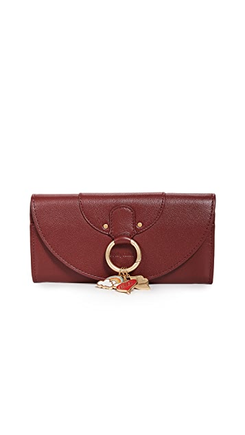 See by Chloe Live Continental Wallet