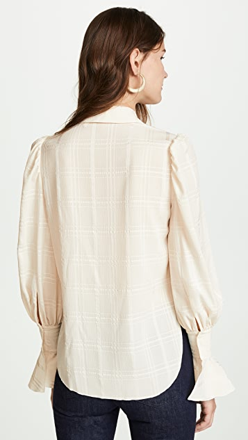 See by Chloe Billow Sleeve Blouse