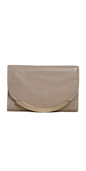 See by Chloe Lizzie Mini Wallet - Motty Grey