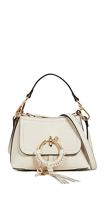 See by Chloe Joan Mini Shoulder Bag - Cement Beige