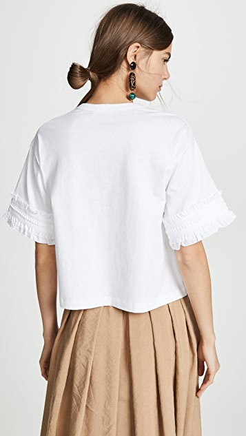 See by Chloe Bell Sleeved Tee