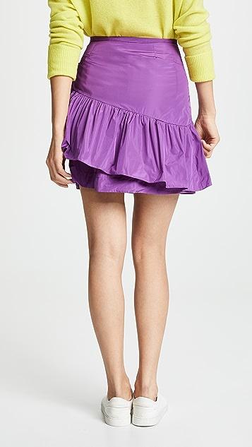 See by Chloe Ruffle Taffeta Skirt