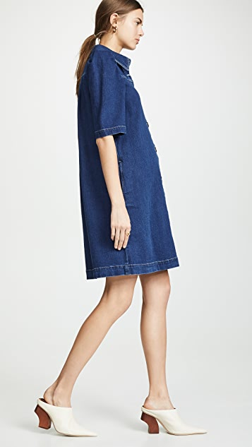 See by Chloe Denim Collared Dress