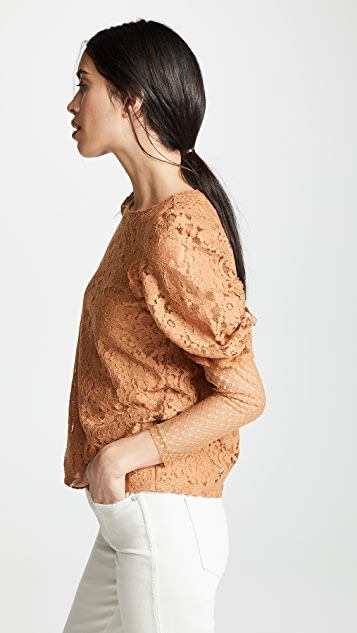 See by Chloe Lace Blouse