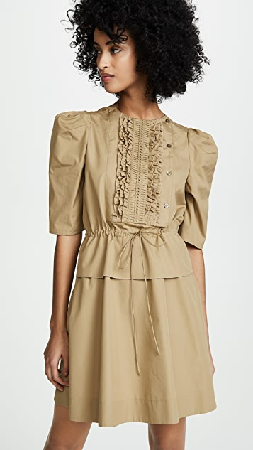Cinched Waist Dress by See By Chloe