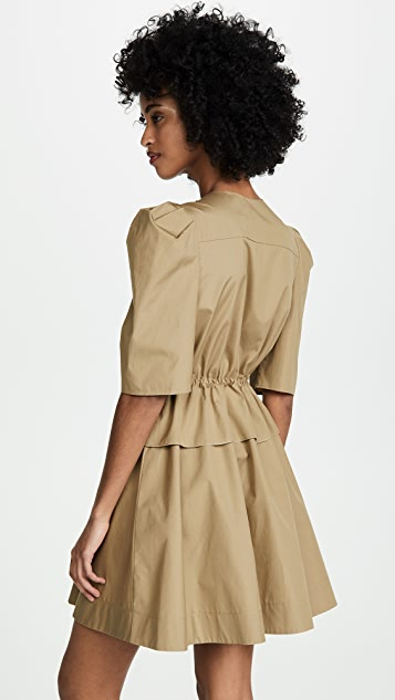 See by Chloe Cinched Waist Dress