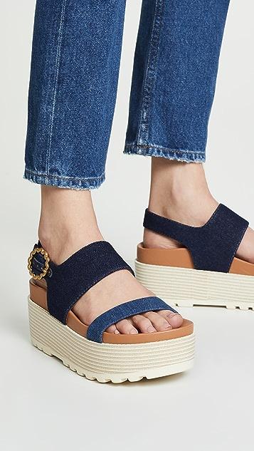 See by Chloe Jenna Platform Sandals